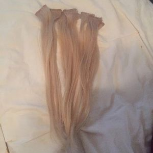 Hot Heads 16 inch tape in hair extensions